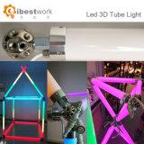 80cm 14,4W DC15V 64PCS 16 RGB LED SMD LED de luz de DJ Pixel iluminação de palco