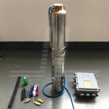 1KW Solar em aço inoxidável de 4 polegada BLDC Bomba Centrífuga com controlador MPPT