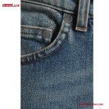 De bebouwde Jeans van het medio-Denim van het recht-Been van de medio-Stijging voor Vrouwen