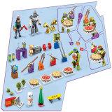 Custom игрушка черепах появлением календари в преддверии рождественских праздников