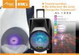 Nuevo diseño de altavoces de coche Toyota con luz brillante al1232