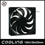 120x120x25mm ventiladores axiais de DC para o resfriador de mesa