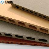 L'argile naturelle en terre cuite de rayures de surface pour le revêtement de mur de panneau
