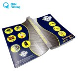 紫外線ラミネーションのカラリング贅沢なカタログの印刷