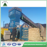 Машина давления Baler неныжной бумаги шерстей сторновки пшеницы