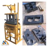 Kleines Block Making/Molding Machine mit Diesel Engine