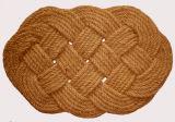 실내 옥외 야자열매 야자껍질의 섬유 코코야자 섬유 자연적인 길쌈된 밧줄 도어 매트 양탄자 양탄자 바닥 문 매트
