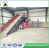 Máquina horizontal automática hidráulica da prensa de empacotamento
