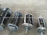 Laines écrasant le matériel pour la machine de raccourci de laines
