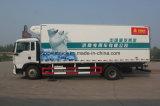 Caminhão Refrigerated tipo de Sinotruk para frutas frescas