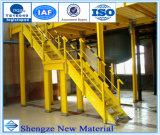 China Peso ligero Instalación fácil FRP Pultruded Handrail, FRP Esgrima