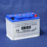 標準高品質DINは満たされたDIN75 12V75ahのカー・バッテリーを乾燥する