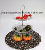 Lastra di vetro di Embossment popolare di disegno/Glasscraft per la cerimonia nuziale/la mobilia domestica