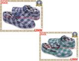 chaussures de toile classiques de plaid (SD6127)