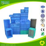 Blauw met de Maagdelijke Plastic Container van de Materialen PK van pp