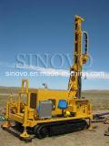 Plate-forme de forage multifonctionnelle montée par chenille efficace élevée de puits d'eau de Model-SNR200C