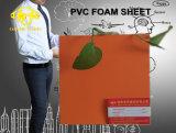 Feuille de mousse PVC orange pour l'impression 1 à 5 mm