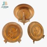 Migliore piatto militare del ricordo del bronzo 3D del pezzo fuso del rifornimento di vendita per Veitnam