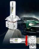 O diodo emissor de luz da Philips lasca a lâmpada principal do diodo emissor de luz do farol/carro do diodo emissor de luz do farol 4000lm 5s do diodo emissor de luz do carro de 25W H4 H7