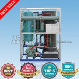 Comestibles y tubo transparente Ice maker con el sistema de control PLC Siemens (5 toneladas)