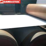 La couleur a enduit la bobine en acier galvanisée enduite d'une première couche de peinture PPGI