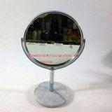 Espelho Desktop de pedra da tabela de /Makeup do espelho de /Makeup do espelho