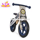 最も新しいデザイン子供のペダルW16c194のない歩くバイクの木の釣り合った男の子の自転車