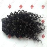 毛のインドの毛を搭載するWeft人間の毛髪の拡張