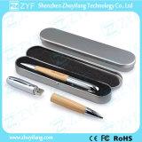 Azionamento di legno del USB della penna dell'acero promozionale 2015 (ZYF1358)