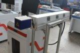 máquina de gravura da marcação do laser do CO2 da cabeça do Galvo de 30W Synrad para o frasco plástico na linha de produção