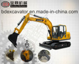 Chenille Exavator de machines de Baoding petite avec le foret de Grasper#Broken Hammer#Rotory