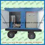 Máquina de alta presión del jet de agua del arenador industrial de la limpieza