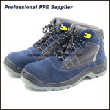 Ботинки техники безопасности на производстве высокого отрезока облегченные