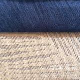 Tissu en velours côtelé en polyester et en nylon pour le canapé