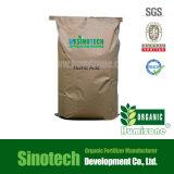 Fertilizante básico Humic do pó 60% do ácido