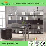 С мангалом деревянные кухонные деревянная мебель с натуральным гранитом Counteritp и нержавеющей стали.