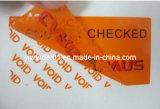El holograma etiqueta Void Publicado el patrón de Etiqueta de seguridad (H-019)