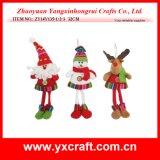 Punto di natale di Haning del sacchetto del feltro del calzino del regalo di organizzazione di natale della decorazione di natale (ZY14Y315-1-2-3)