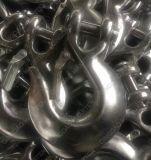 L'acier du carbone a modifié le crochet H-323 d'encavateur d'oeil pour fouetter la chaîne
