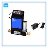 Controlador do medidor de fluxo do controlador do indicador do fluxo em massa do gás de Digitas da precisão