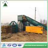 直売の高品質の油圧スクラップのわらの干し草のパッキング機械