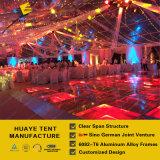 ドイツの品質のゆとりの屋根(hy010g)が付いている優雅な透過結婚式のテント