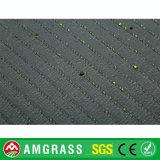Moquette colorata del tappeto erboso del campo di calcio, decorazione artificiale dell'erba