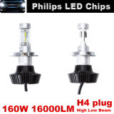 Viga alta-baja auto, LED Lumbs, lámpara del coche LED