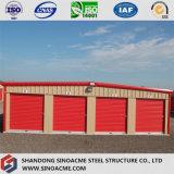 Almacén ligero prefabricado de la estructura de acero con alta calidad