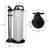 Freio Manual Pneumática de 9 L de líquido de Engrenagem da Bomba de extração de óleo de sucção do carro elevador