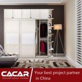 Церматтский деревянный гардероб из ПВХ с витриной (CA01-03)