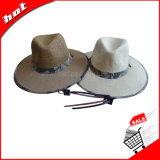 Chapéu da tela do chapéu do papel do chapéu de palha do chapéu da promoção do chapéu de Sun