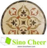 Mattonelle della Tabella del mosaico del marmo del reticolo del getto di acqua