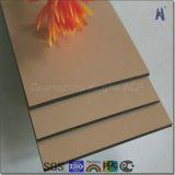 Het zilver Geborstelde Plastic Samengestelde Comité van het Aluminium